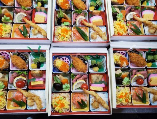 下田の折詰弁当(*´▽`*)