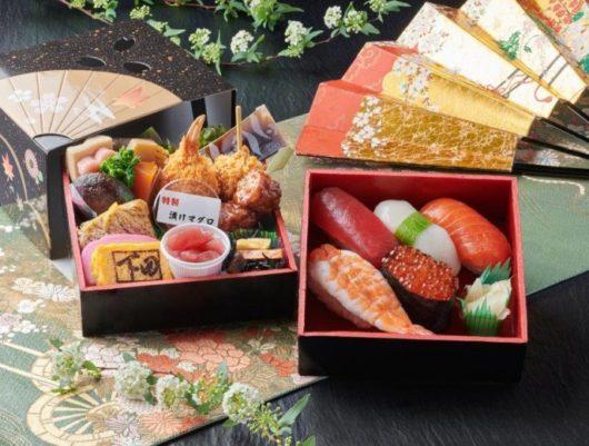 下田の宅配【折詰弁当味楽・にぎり寿司】